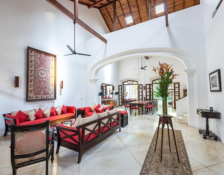 No 39 Galle Fort Galle 3 Bedroom Luxury Villa Sri Lanka